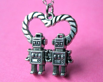 Robot Lover Necklace (T2)
