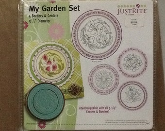 Just Rite Stamps. My Garden Set