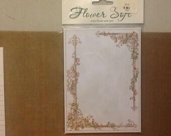 Flower Soft  Edwardian Elegance- Boarders