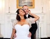 Irish Cream VENETIAN bridal bolero jacket wedding shrug champagne lace bolero by angelika liv