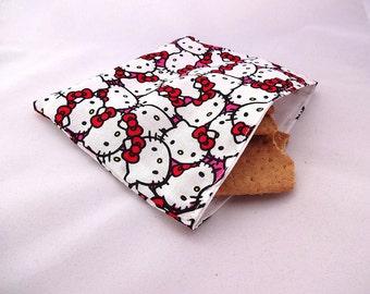 Hello Kitty Reusable Snack Bag
