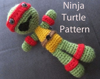 PDF - Pattern Ninja Turtles- Digital Download