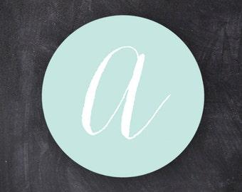 Monogram Stickers | Wedding | Favors | Envelope Seals