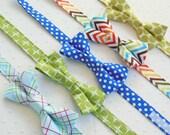 Boys Bowtie - genuine adjustable - DESIGN YOUR OWN from designer fabrics
