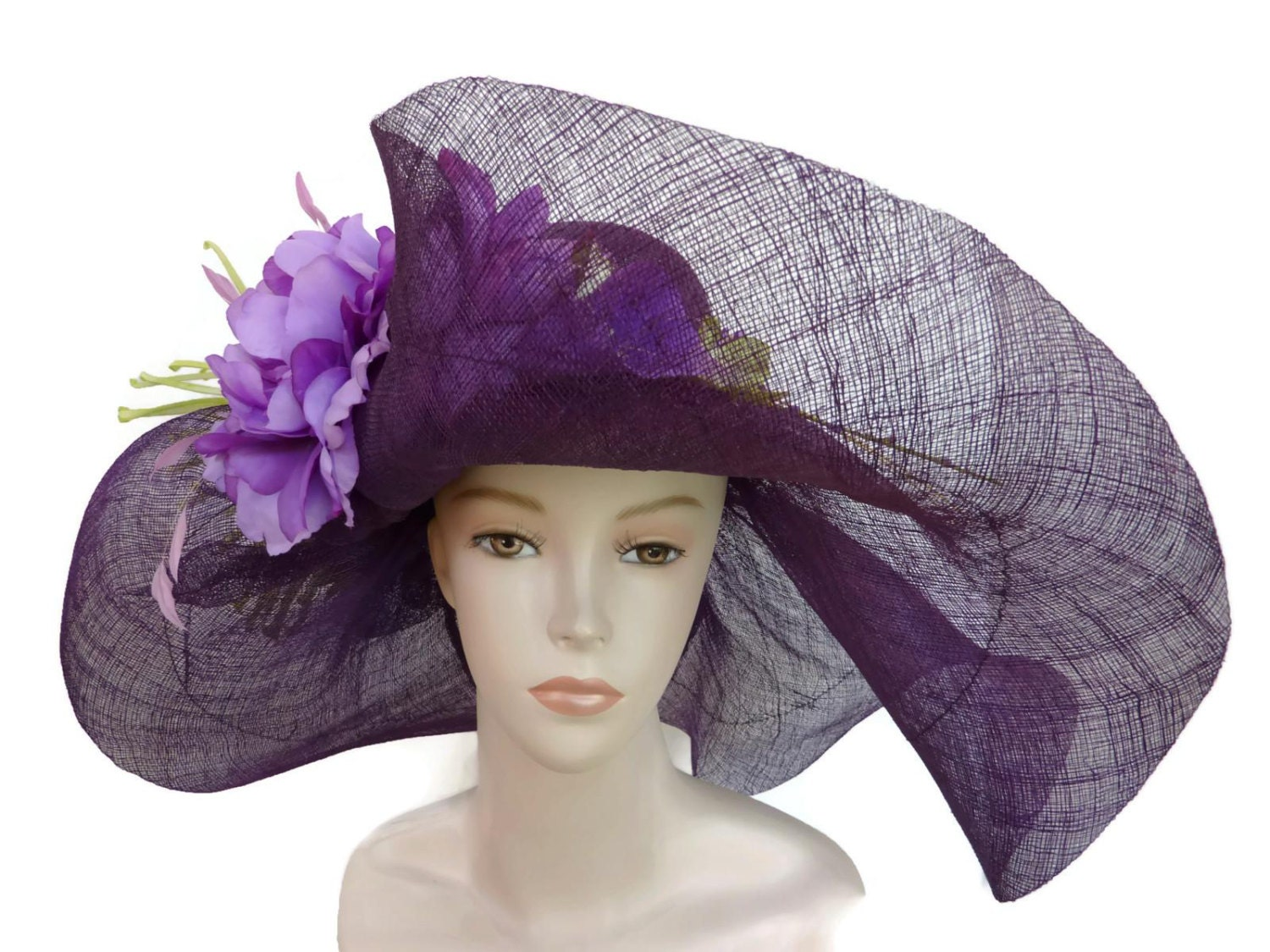 womens kentucky derby hat straw hat fashion easter