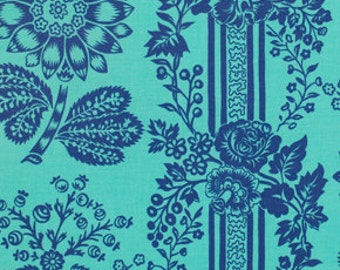 Jennifer Paganelli Happy Land Candice in Blue 1/2 yard by Free Spirit Fabrics