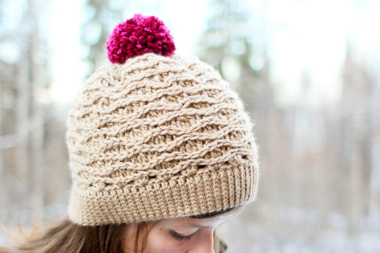 Crochet Hat Patterns Adults : Crochet Hat Pattern Tessa Hat Baby-Adult Sizes