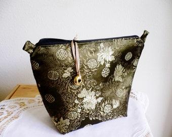 Cosmetic Bag ... Moss - Green ... Elegant