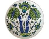 An Iznik Damascus-Style Pottery Dish