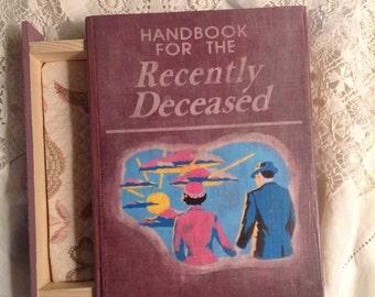 Handbook for the Recently Deceased Book Jewelry Box - *Beetlejuice* - Handbook for the Recently Deceased Book Box - Jewelry Box - Book Box