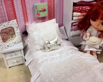 Blythe Doll Bedding-Shabby Style