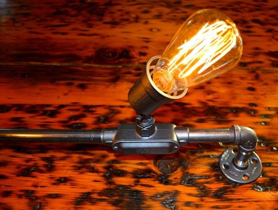Industrial track lighting for Industrial pipe light socket