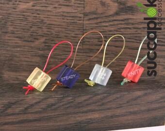 Bastilli - Knitting Stitch Markers  - READY..  STEADY.........  KNIT.