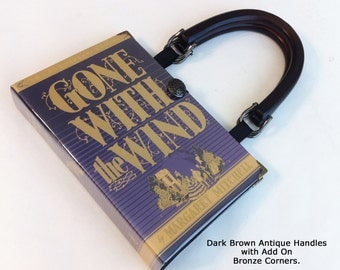 Gone With The Wind Book Purse or Book Clutch - Gone With The Wind Collector Gift - Scarlett O Hara Costume Purse - Southern Belle Bag