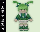 Crochet Pattern - Amigurumi Patty O'Green Doll