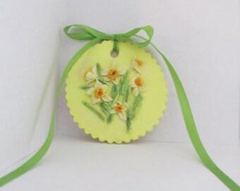 Daffodil Floral Ornament