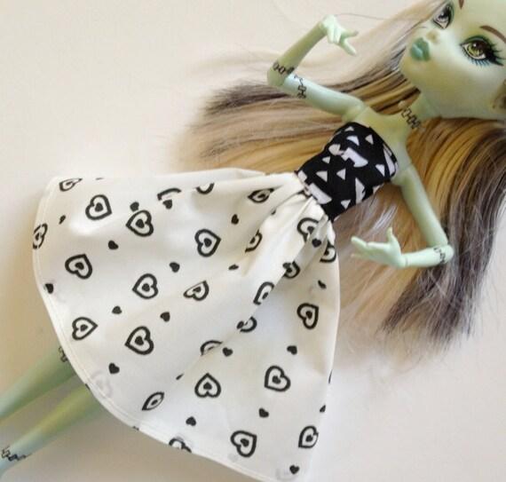 Handmade Monster High Ever After High La Dee Da Clothes Dress