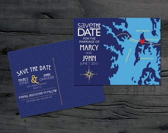 Kent Island Maryland – Save the Date – Destination Wedding – Wedding Save the Dates