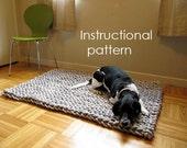Rope rug PDF pattern