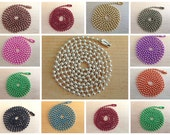 20pc...2.4mm Colored Ball Chains. Mix and Match any color. Great for pendants.