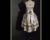 wearydreary rag dolly teatime dress