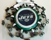 New York Jets Recycled Aluminum Can Ornament