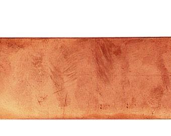 Copper Coil Cuff Blank