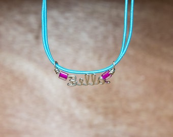 Wire Name necklace