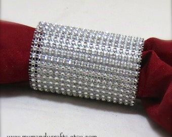 Napkin Ring - Napkin Ring - New Years - Christmas - Weddings - table decor