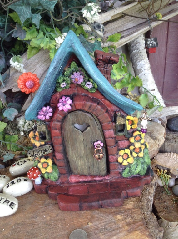 Fairy Door Magical Garden Door By Enchantdmushroomland
