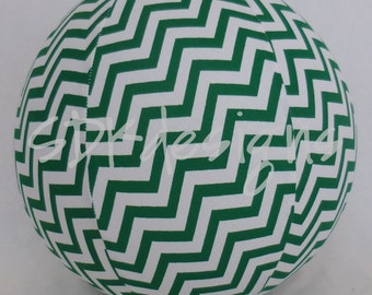 MSU Spartans Edition - GREEN and White Chevron - as seen with Michelle Obama on Parenting.com