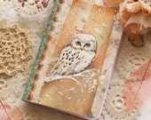 Illustrated notebook - Snow Owl