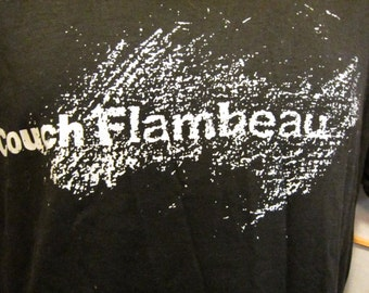 80s  authentic black Couch Flambeau Milwaukee band tshirt size large