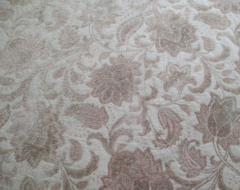 HuGe ViNTaGe PieCe of BRoCaDe FaBRiC - 139 x 54 - HeaVY UPHoLSTeRY or DRaPeRY MaTeRiaL -  GoRGeouS!