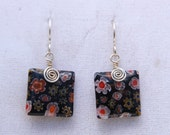 Wire Wrapped Millfiori Gl...