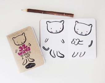 Dress Up 32 Page Activity Book - Cat