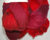 Studio June Yarn Super Cash Sock - Cashmere, Superwash Merino, Nylon - Color:  Raindrops on Roses
