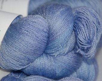 Studio June Yarn Silky BFL Lace - Violet Blue
