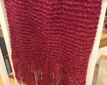 Red/Pink Winter Scarf FREE SHIPPING
