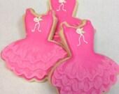 TUTU CUTE Sugar Cookie Party Favors, 1 Dozen