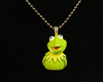 Kermit the frog necklace