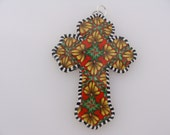 Polymer Clay Reversible Cross