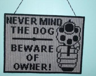Beware of Owner Wall or Door Hanging