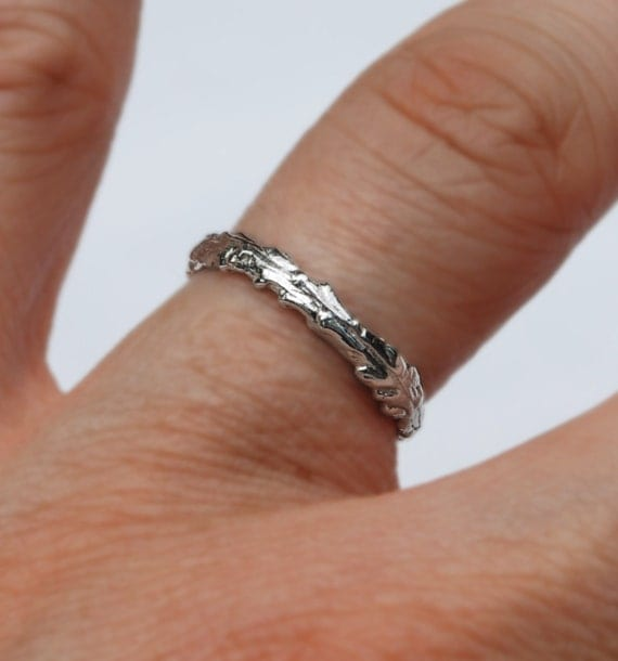 Long Island Sterling Silver Twig Ring