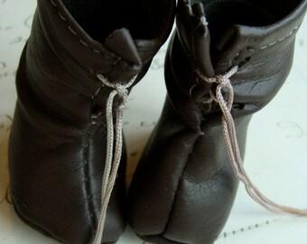 Antique Doll Rare Victorian Prairie Boots