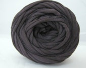 T Shirt Yarn Hand Dyed Slate 30 yards THICK