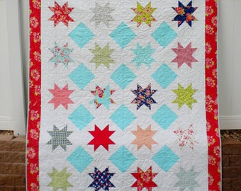 Paper Pattern for Sparkle Quilt