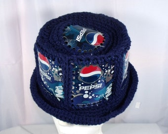 Pepsi Crocheted Hat