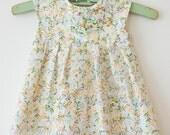 Geranium Dress Baby Dress Made to Order Indian Block Print