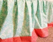 ADD a border  to your crib skirt, UPGRADE